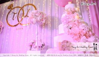 Kiong Art Wedding Event Kuala Lumpur Malaysia Event and Wedding Decoration Company One-stop Wedding Planning Services Wedding Theme Fantasy Secret Garden Restoran SY Muar A03-31