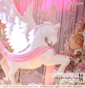Kiong Art Wedding Event Kuala Lumpur Malaysia Event and Wedding Decoration Company One-stop Wedding Planning Services Wedding Theme Fantasy Secret Garden Restoran SY Muar A03-40