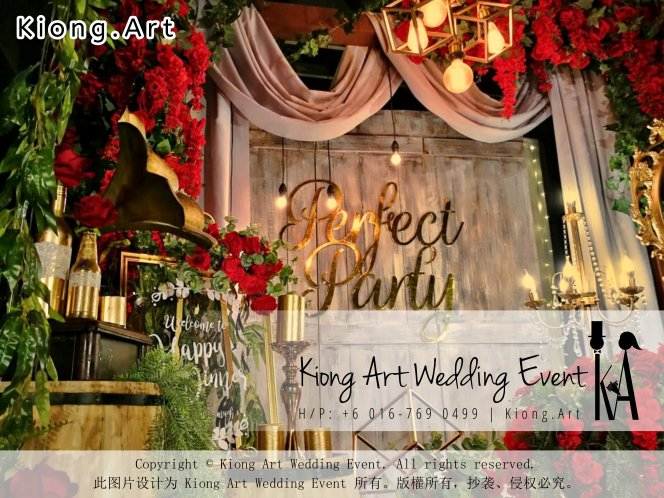 Kiong Art Wedding Event Kuala Lumpur Malaysia Event and Wedding Decoration Company One-stop Wedding Planning Services Wedding Theme Live Band Wedding Photography Videography A01-06