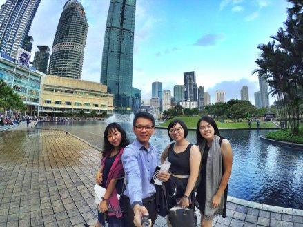 KLCC Kuala Lumpur Malaysia Kuala Lumpur City Centre Selangor Travel Raymond Ong Effye Ang Pinky Ning Estella Oon PETRONAS Twin Towers 马来西亚 吉隆坡 双峰塔 旅游雪兰莪A30