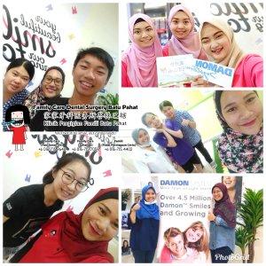 Klinik Pergigian Famili Batu Pahat Johor Malaysia Batu Pahat Doktor Pergigian Kanak-kanak Klinik Pergigian Perkhidmatan Komuniti Ke Sekolah Tinggi Cina Batu Pahat Memeriksa Gigi Pelajar A03-04