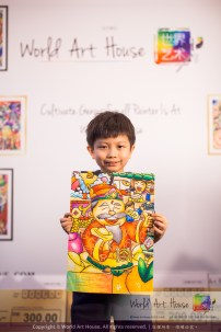 Malaysia Kota Damansara Petaling Jaya Kuala Lumpur Selangor Chinese New Year Charity Coloring Contest World Art House 世界艺术画室 and 1 Utama Shopping JinYeYe Effye Media B014
