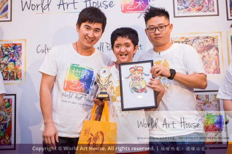 Malaysia Kota Damansara Petaling Jaya Kuala Lumpur Selangor Chinese New Year Charity Coloring Contest World Art House 世界艺术画室 and 1 Utama Shopping JinYeYe Effye Media B032