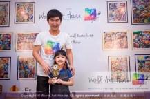 Malaysia Kota Damansara Petaling Jaya Kuala Lumpur Selangor Chinese New Year Charity Coloring Contest World Art House 世界艺术画室 and 1 Utama Shopping JinYeYe Effye Media B044