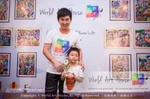 Malaysia Kota Damansara Petaling Jaya Kuala Lumpur Selangor Chinese New Year Charity Coloring Contest World Art House 世界艺术画室 and 1 Utama Shopping JinYeYe Effye Media B047