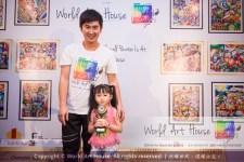 Malaysia Kota Damansara Petaling Jaya Kuala Lumpur Selangor Chinese New Year Charity Coloring Contest World Art House 世界艺术画室 and 1 Utama Shopping JinYeYe Effye Media B048