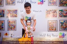 Malaysia Kota Damansara Petaling Jaya Kuala Lumpur Selangor Chinese New Year Charity Coloring Contest World Art House 世界艺术画室 and 1 Utama Shopping JinYeYe Effye Media B056