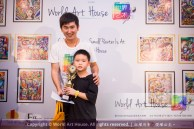 Malaysia Kota Damansara Petaling Jaya Kuala Lumpur Selangor Chinese New Year Charity Coloring Contest World Art House 世界艺术画室 and 1 Utama Shopping JinYeYe Effye Media B060