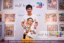 Malaysia Kota Damansara Petaling Jaya Kuala Lumpur Selangor Chinese New Year Charity Coloring Contest World Art House 世界艺术画室 and 1 Utama Shopping JinYeYe Effye Media B062