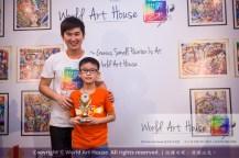 Malaysia Kota Damansara Petaling Jaya Kuala Lumpur Selangor Chinese New Year Charity Coloring Contest World Art House 世界艺术画室 and 1 Utama Shopping JinYeYe Effye Media B090
