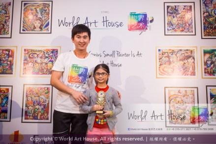 Malaysia Kota Damansara Petaling Jaya Kuala Lumpur Selangor Chinese New Year Charity Coloring Contest World Art House 世界艺术画室 and 1 Utama Shopping JinYeYe Effye Media B095