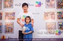 Malaysia Kota Damansara Petaling Jaya Kuala Lumpur Selangor Chinese New Year Charity Coloring Contest World Art House 世界艺术画室 and 1 Utama Shopping JinYeYe Effye Media B100