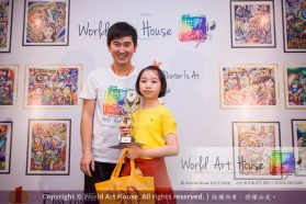 Malaysia Kota Damansara Petaling Jaya Kuala Lumpur Selangor Chinese New Year Charity Coloring Contest World Art House 世界艺术画室 and 1 Utama Shopping JinYeYe Effye Media C016