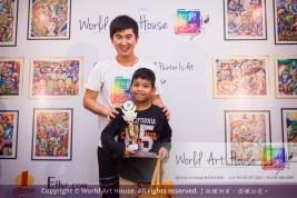 Malaysia Kota Damansara Petaling Jaya Kuala Lumpur Selangor Chinese New Year Charity Coloring Contest World Art House 世界艺术画室 and 1 Utama Shopping JinYeYe Effye Media C023