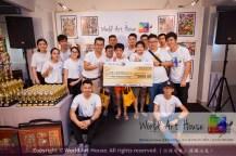 Malaysia Kota Damansara Petaling Jaya Kuala Lumpur Selangor Chinese New Year Charity Coloring Contest World Art House 世界艺术画室 and 1 Utama Shopping JinYeYe Effye Media C035