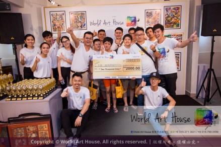 Malaysia Kota Damansara Petaling Jaya Kuala Lumpur Selangor Chinese New Year Charity Coloring Contest World Art House 世界艺术画室 and 1 Utama Shopping JinYeYe Effye Media C038