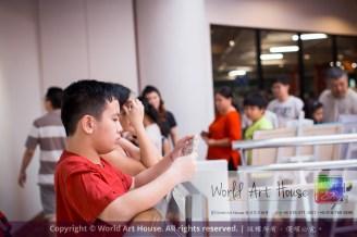 Malaysia Kota Damansara Petaling Jaya Kuala Lumpur Selangor Chinese New Year Charity Coloring Contest World Art House 世界艺术画室 and 1 Utama Shopping JinYeYe Effye Media C048