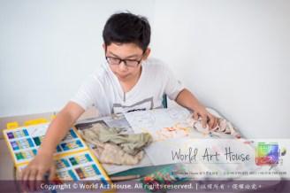 Malaysia Kota Damansara Petaling Jaya Kuala Lumpur Selangor Chinese New Year Charity Coloring Contest World Art House 世界艺术画室 and 1 Utama Shopping JinYeYe Effye Media C077