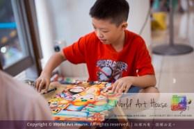 Malaysia Kota Damansara Petaling Jaya Kuala Lumpur Selangor Chinese New Year Charity Coloring Contest World Art House 世界艺术画室 and 1 Utama Shopping JinYeYe Effye Media C090