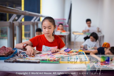 Malaysia Kota Damansara Petaling Jaya Kuala Lumpur Selangor Chinese New Year Charity Coloring Contest World Art House 世界艺术画室 and 1 Utama Shopping JinYeYe Effye Media C092