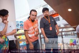 Malaysia Kota Damansara Petaling Jaya Kuala Lumpur Selangor Chinese New Year Charity Coloring Contest World Art House 世界艺术画室 and 1 Utama Shopping JinYeYe Effye Media D008