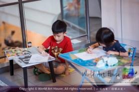 Malaysia Kota Damansara Petaling Jaya Kuala Lumpur Selangor Chinese New Year Charity Coloring Contest World Art House 世界艺术画室 and 1 Utama Shopping JinYeYe Effye Media A033