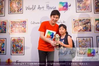Malaysia Kota Damansara Petaling Jaya Kuala Lumpur Selangor Chinese New Year Charity Coloring Contest World Art House 世界艺术画室 and 1 Utama Shopping JinYeYe Effye Media D024