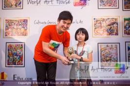 Malaysia Kota Damansara Petaling Jaya Kuala Lumpur Selangor Chinese New Year Charity Coloring Contest World Art House 世界艺术画室 and 1 Utama Shopping JinYeYe Effye Media D026