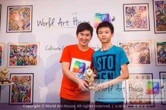 Malaysia Kota Damansara Petaling Jaya Kuala Lumpur Selangor Chinese New Year Charity Coloring Contest World Art House 世界艺术画室 and 1 Utama Shopping JinYeYe Effye Media D027