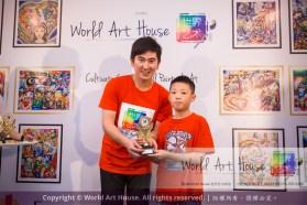 Malaysia Kota Damansara Petaling Jaya Kuala Lumpur Selangor Chinese New Year Charity Coloring Contest World Art House 世界艺术画室 and 1 Utama Shopping JinYeYe Effye Media D028