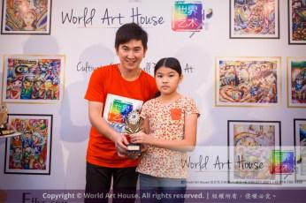Malaysia Kota Damansara Petaling Jaya Kuala Lumpur Selangor Chinese New Year Charity Coloring Contest World Art House 世界艺术画室 and 1 Utama Shopping JinYeYe Effye Media D033