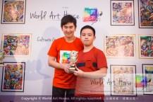 Malaysia Kota Damansara Petaling Jaya Kuala Lumpur Selangor Chinese New Year Charity Coloring Contest World Art House 世界艺术画室 and 1 Utama Shopping JinYeYe Effye Media D044