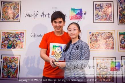 Malaysia Kota Damansara Petaling Jaya Kuala Lumpur Selangor Chinese New Year Charity Coloring Contest World Art House 世界艺术画室 and 1 Utama Shopping JinYeYe Effye Media D046