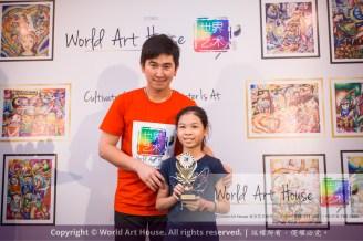 Malaysia Kota Damansara Petaling Jaya Kuala Lumpur Selangor Chinese New Year Charity Coloring Contest World Art House 世界艺术画室 and 1 Utama Shopping JinYeYe Effye Media D055