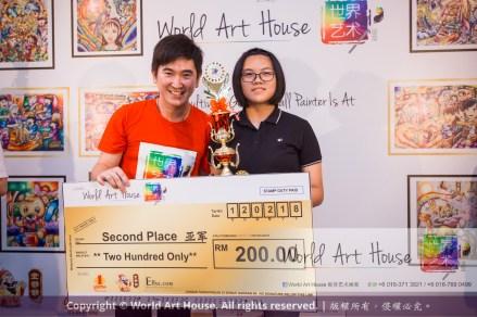 Malaysia Kota Damansara Petaling Jaya Kuala Lumpur Selangor Chinese New Year Charity Coloring Contest World Art House 世界艺术画室 and 1 Utama Shopping JinYeYe Effye Media D069