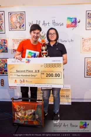Malaysia Kota Damansara Petaling Jaya Kuala Lumpur Selangor Chinese New Year Charity Coloring Contest World Art House 世界艺术画室 and 1 Utama Shopping JinYeYe Effye Media D070