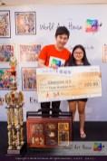 Malaysia Kota Damansara Petaling Jaya Kuala Lumpur Selangor Chinese New Year Charity Coloring Contest World Art House 世界艺术画室 and 1 Utama Shopping JinYeYe Effye Media D072