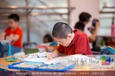 Malaysia Kota Damansara Petaling Jaya Kuala Lumpur Selangor Chinese New Year Charity Coloring Contest World Art House 世界艺术画室 and 1 Utama Shopping JinYeYe Effye Media A039