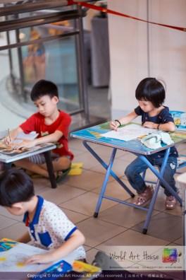 Malaysia Kota Damansara Petaling Jaya Kuala Lumpur Selangor Chinese New Year Charity Coloring Contest World Art House 世界艺术画室 and 1 Utama Shopping JinYeYe Effye Media A043