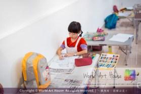 Malaysia Kota Damansara Petaling Jaya Kuala Lumpur Selangor Chinese New Year Charity Coloring Contest World Art House 世界艺术画室 and 1 Utama Shopping JinYeYe Effye Media A077