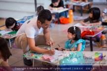Malaysia Kota Damansara Petaling Jaya Kuala Lumpur Selangor World Art House 世界艺术画室 Charity Coloring Contest Effye Media A005