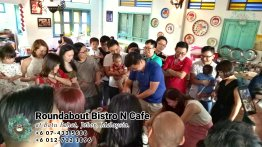 Buffet Batu Pahat Roundabout Bistro N Cafe Malaysia Johor Batu Pahat Totoro Cafe Historical Building Cafe Batu Pahat Landmark Birthday Party Wedding Function Event Kopitiam PC01-03