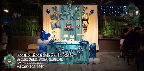 Buffet Batu Pahat Roundabout Bistro N Cafe Malaysia Johor Batu Pahat Totoro Cafe Historical Building Cafe Batu Pahat Landmark Birthday Party Wedding Function Event Kopitiam PC01-17