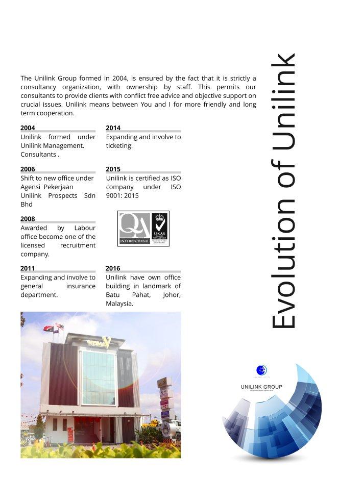 Company Profile of Agensi Pekerjaan Unilink Prospects Sdn Bhd Director Datin Sri Fun See Hoon Datin Sri Ivy Malaysia A04