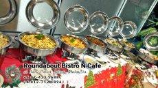 峇株巴辖自助餐龙猫特色中西餐厅 复古式建筑咖啡厅 马来西亚柔佛峇株巴辖地标交通圈小酒馆 公司聚会 Batu Pahat Roudabout Bistro N Cafe PC01-19