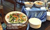 峇株巴辖自助餐龙猫特色中西餐厅 复古式建筑咖啡厅 马来西亚柔佛峇株巴辖地标交通圈小酒馆 公司聚会 Batu Pahat Roudabout Bistro N Cafe PC01-29