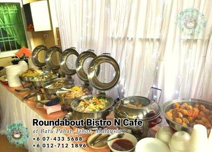 峇株巴辖自助餐龙猫特色中西餐厅 复古式建筑咖啡厅 马来西亚柔佛峇株巴辖地标交通圈小酒馆 公司聚会 Batu Pahat Roudabout Bistro N Cafe PC01-36