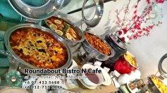 峇株巴辖自助餐龙猫特色中西餐厅 复古式建筑咖啡厅 马来西亚柔佛峇株巴辖地标交通圈小酒馆 公司聚会 Batu Pahat Roudabout Bistro N Cafe PC01-06