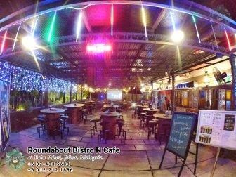 马来西亚柔佛峇株巴辖龙猫特色中西餐厅 复古式建筑咖啡厅 峇株巴辖地标交通圈小酒馆 公司聚会 庆生派对 Batu Pahat Roudabout Bistro N Cafe PA01-03