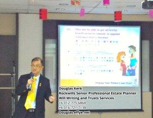 Douglas Kerk Rockwills Senior Professional Estate Planner - Will Writing and Trusts Services Batu Pahat and Kluang Johor Malaysia Property Management PA02-33
